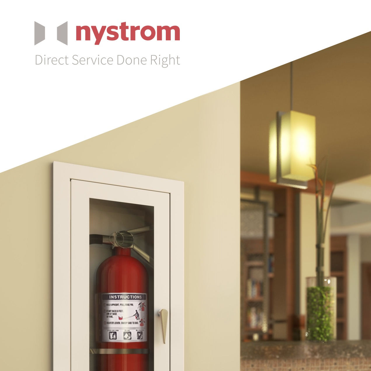 Fire Cabinets + Extinguishers